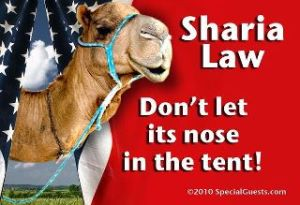 Sharia Law, the camel's nose under the tent